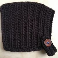 Pixie Hat - Toddler size (9 months - 2 years) - Chocolate Brown
