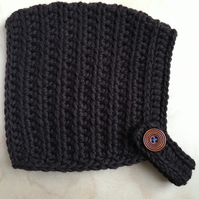 Pixie Hat - Small Child size (2-4 years) - Chocolate Brown