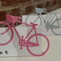Bicycle Place Cards