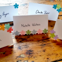 Flower Power Place Cards