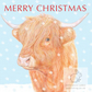 Highland Cow - Christmas Card