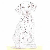 Dot the Dalmatian - Blank Card