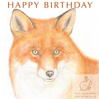 Fox - Birthday Card