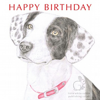 Ben the Dog - Birthday Card