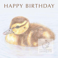Duckling - Birthday Card