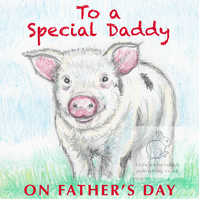 Piggy - Father's Day Card