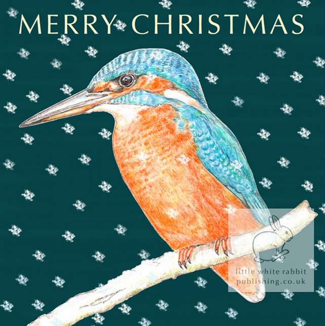 Kingfisher - Christmas Card