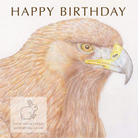 Golden Eagle - Birthday Card