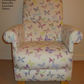 Prestigious Lavender Butterflies Fabric Adult Chair Lilac Nursery Pink Bedroom