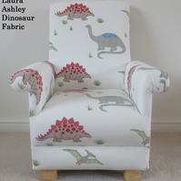 Laura Ashley Dinosaur Fabric Child's Chair Kids Boys Armchair Reading Dino