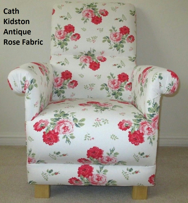 Bespoke Chair In Cath Kidston Antique Rose Fabr...
