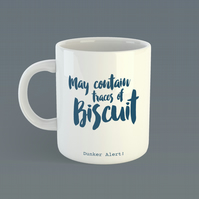 May Contain Traces of Biscuit Mug