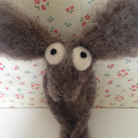 Needle Felted Hare Bear