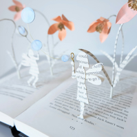 "Book Art Sculpture ""Bubbles"""