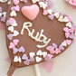 Personalised Belgian Chocolate Lollipop