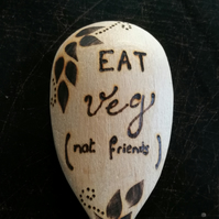 Eat veg (not friends) SPOON