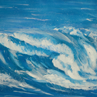 Waves - An Original Acrylic Painting