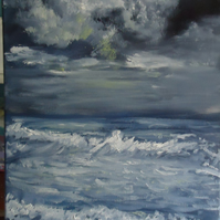 Pembrokeshire Seas - An Original Oil Painting on canvas