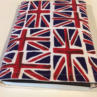 Book Lover's protective sleeve Union Jack
