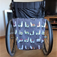 Wheel  Chair bag alpacas