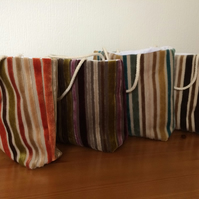Luxury fabric gift bags