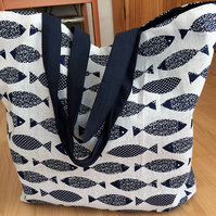 Beach Tote bag Fish
