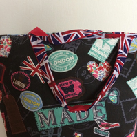 Union Jack London design totebag