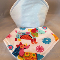 Bandana dribble bibs pack of 2