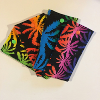 Palm trees Glasses soft case