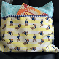 Book Cushion Cover Rabbits