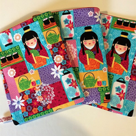 Book Lovers Protective Cover Japanese dolls