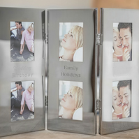 Personalised tri-folding photo frame