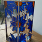 Hand decorated and painted vase
