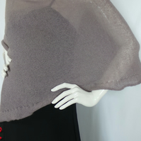 Knitted, Poncho, Shadows colour, Hand made, Women fashion, Warp,  Christmas gift