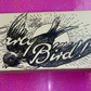 tattoo style vintage bird illustration small box - great for keys, change etc