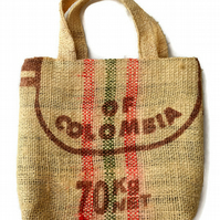 Coffee Sack Tote Shopping Bag or Beach Bag.
