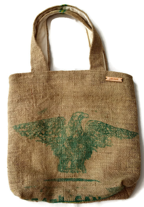 Hessian Tote Shopping Bag