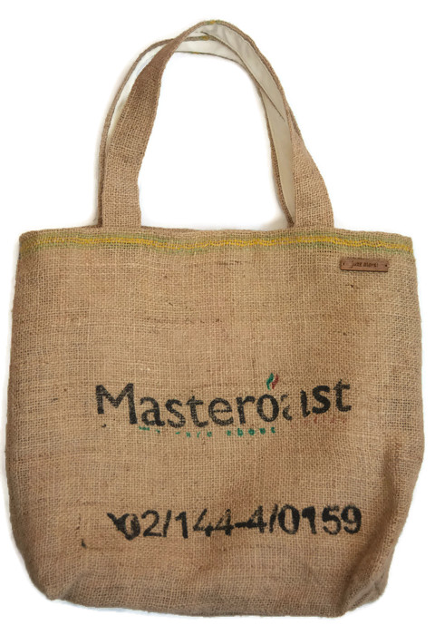 Coffee Sack Hessian Tote Shopping Bag