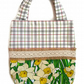Daffodil Easter Bag. Children's Spring tote bag. Easter Egg Hunt Bag