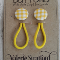Button Hair Bands