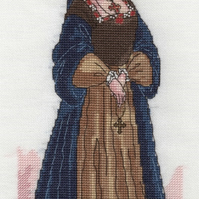 KL110 Catherine of Aragon Cross Stitch Kit designed by Vanessa Wells