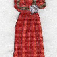KL115 Catherine Parr Cross Stitch Kit designed by Vanessa Wells