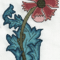 KL45 Morris Compton Cross Stitch Kit by Goldleaf Needlework
