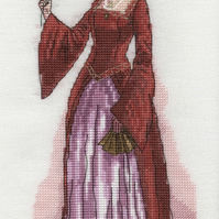 KL111 Anne Boleyn Cross Stitch Kit designed by Vanessa Wells