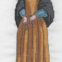 KL114 Catherine Howard Cross Stitch Kit designed by Vanessa Wells