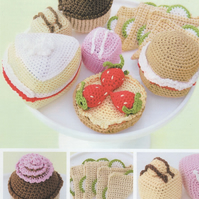 DMC Afternoon Tea Amigurumi Crochet Pattern