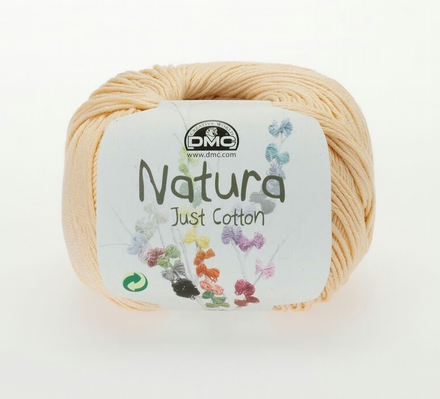 3 Balls of DMC Acanthe (N81) Natura Just Cotton for knitting or crochet