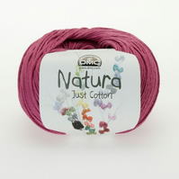 3 Balls of DMC Amaranto (N33) Natura Just Cotton for knitting or crochet