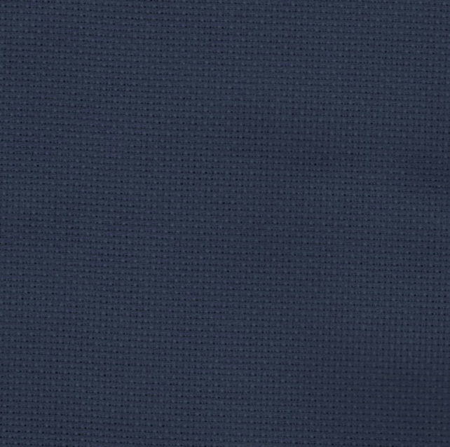 Zweigart 14 count Navy Blue Aida - 50 x 55cm piece - ideal for Cross Stitch