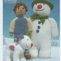 DMC The Snowman, The Snowdog and Billy Crochet Pattern Booklet